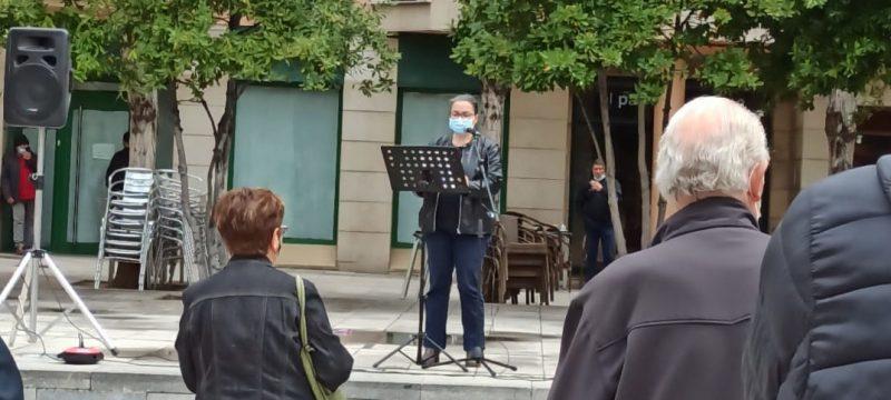 Acte del Primer de Maig a Valls